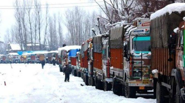 छह दिन बाद खुला जम्मू-श्रीनगर राजमार्ग 1