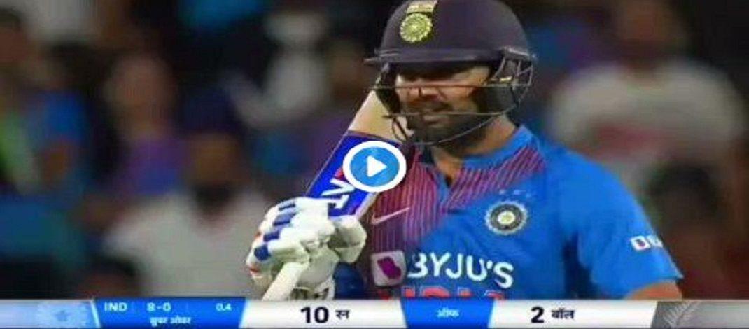 शमी ने कराया मैच टाई, सुपर ओवर में रोहित की ताबड़तोड़ बल्लेबाजी से भारत ने जीती सीरीज