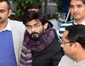 देशद्रोह के आरोपी शरजील इमाम 5 दिनों की क्राइम ब्रांच हिरासत में