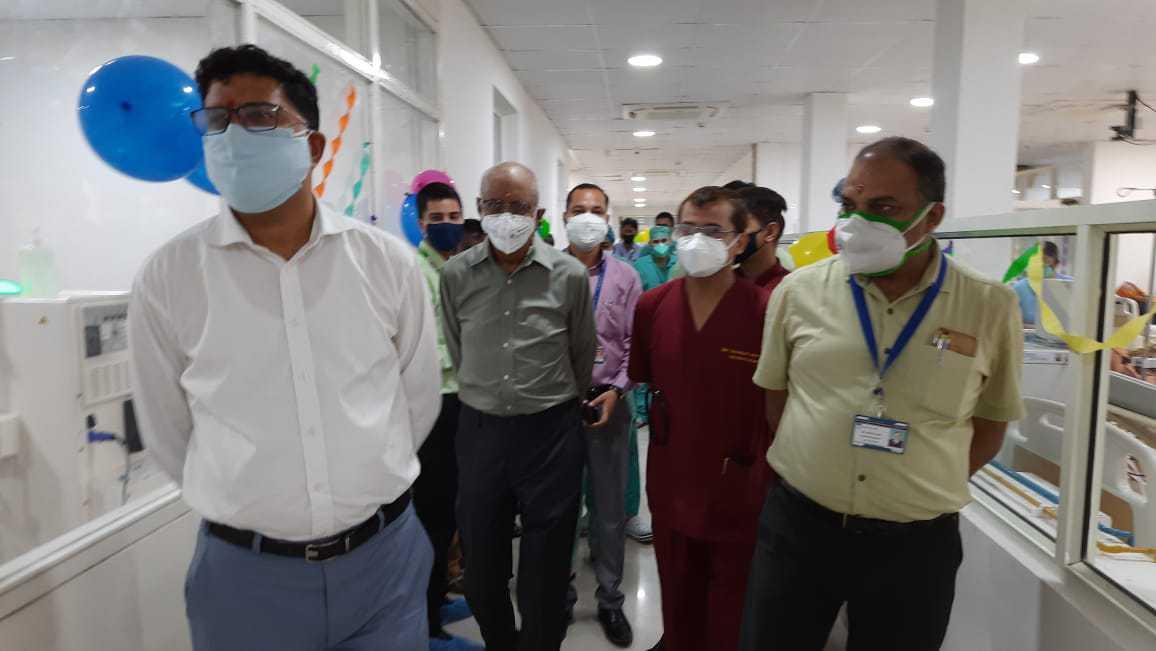 हिमालयन हॉस्पिटल में उत्तराखंड का सबसे बड़ा डायलिसिस सेंटर हुआ स्थापित, डायलिसिस मशीन 30 से बढ़ाकर की गई 40 2