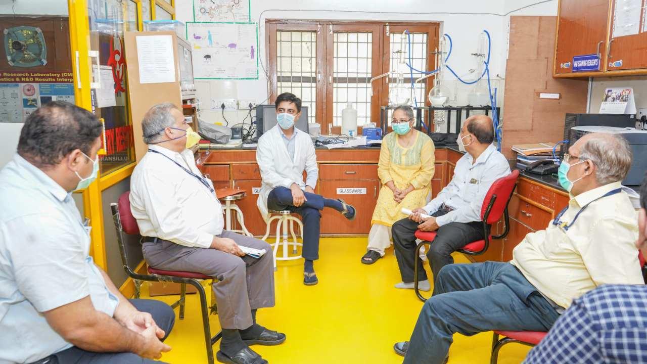 महंत इन्दिरेश अस्पताल में कोविड-19 मरीजों के लिए 120 बैड अब आरक्षित 2