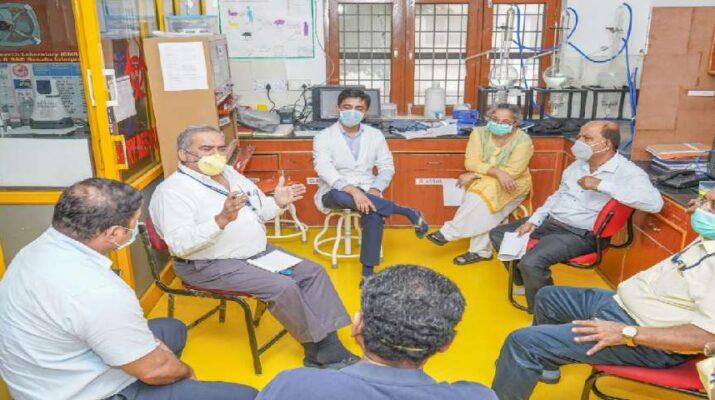 महंत इन्दिरेश अस्पताल में कोविड-19 मरीजों के लिए 120 बैड अब आरक्षित 1