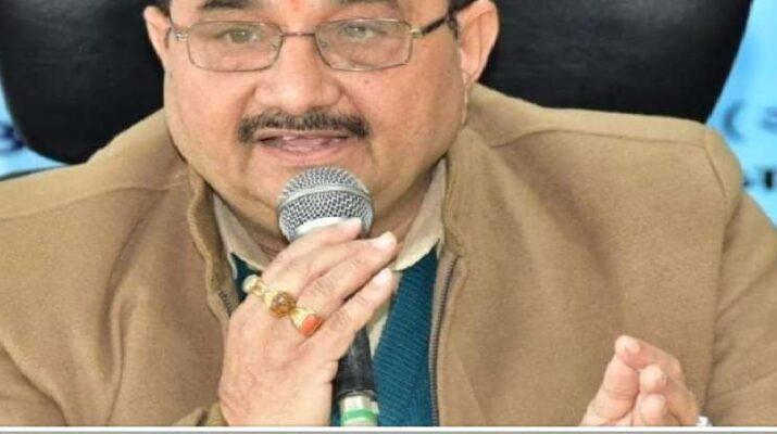 भाजपा विधायक उमेश शर्मा काऊ भी कोरोना पोज़िटिव, सोशल मीडिया एकाउंट पर शेयर की यह बात 1
