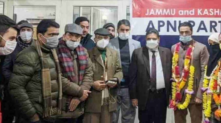 "Jammu & Kashmir: Apni Party felicitates Party's ULB winners of Pulwama district, Said ""Will always work tirelessly for the welfare of people"" 4"