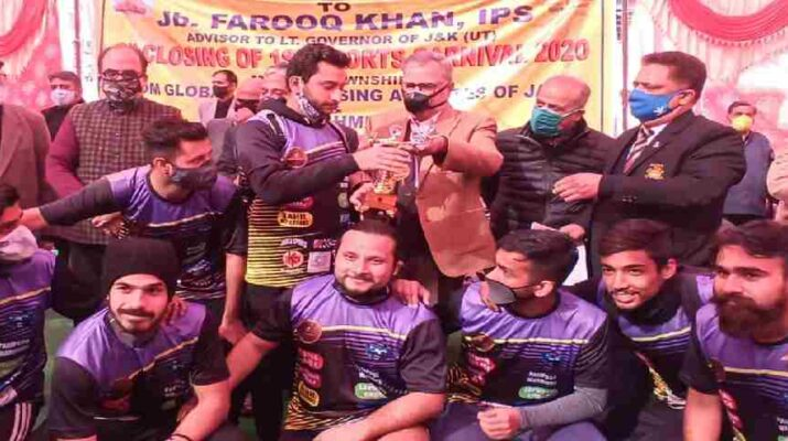J&K: Advisor Farooq Khan stressed to adopt sports culture for healthy & disciplined life, Announced multipurpose Indoor Stadium at Jagti Township 17