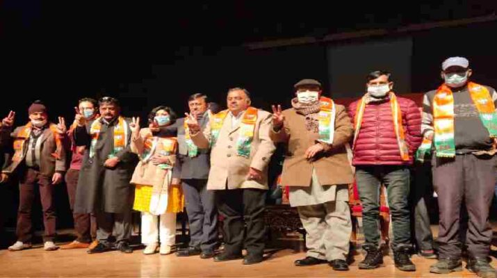 J&K: BJP facilitated newly elected representatives, vowed to work for development in region, Was victory of trust and commitment: Chugh 12