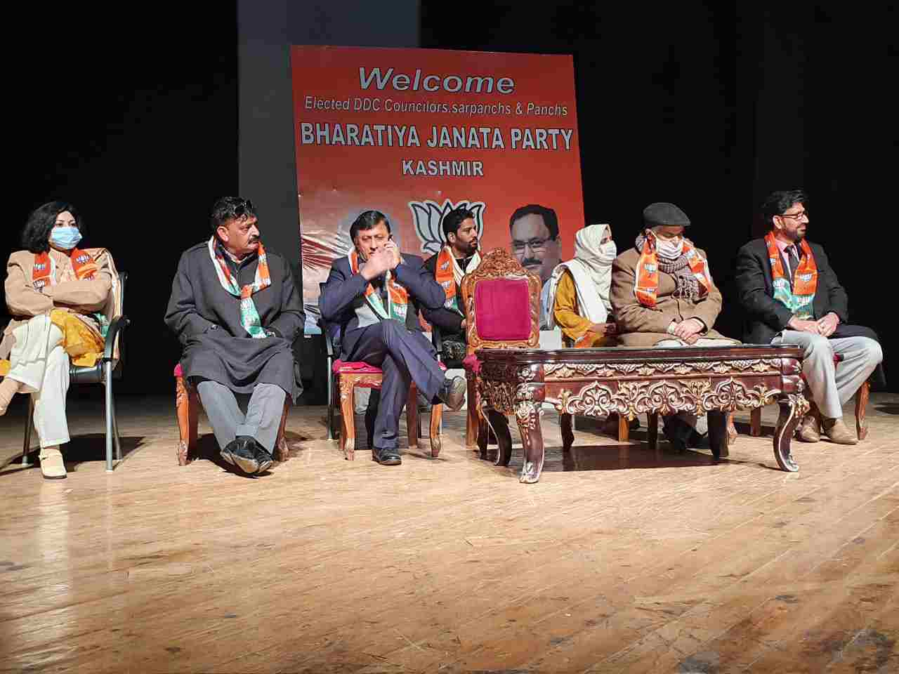 J&K: BJP facilitated newly elected representatives, vowed to work for development in region, Was victory of trust and commitment: Chugh 4