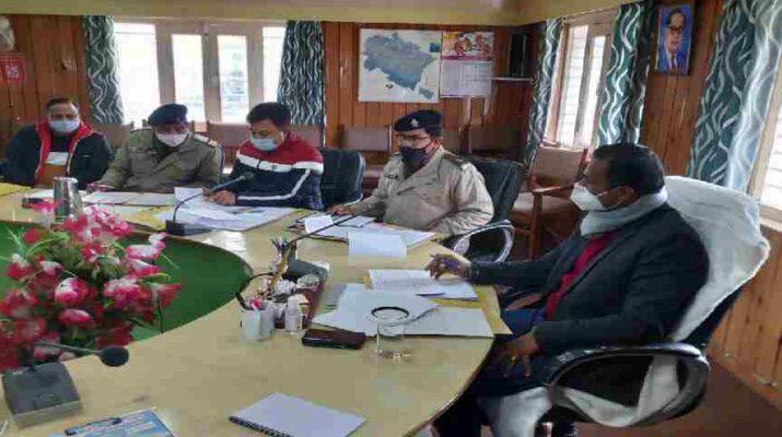 जिला सड़क सुरक्षा समिति की बैठक हुई संपन्न, जिलाधिकारी डॉ विजय कुमार ने दिए यह महत्वपूर्ण निर्देश 17