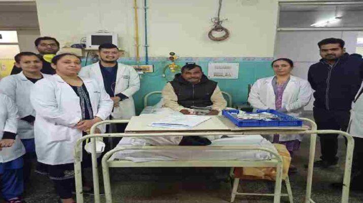 बिजनौर के हरनाम को हिमालयन हॉस्पिटल जौलीग्रांट ने दिया नया जीवन, जानलेवा बिमारी म्यूकर माइकोसिस (फंगल संक्रमण) से था पीड़ित 1