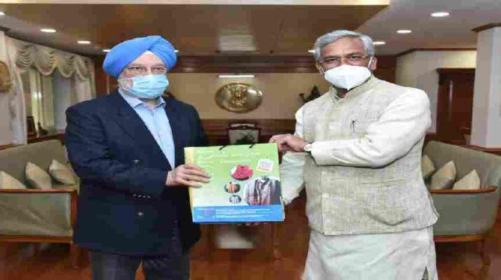 मुख्यमंत्री त्रिवेन्द्र सिंह रावत ने नई दिल्ली में केंद्रीय नागरिक उड्डयन मंत्री हरदीप पुरी से की भेंट, कहा इन उड़ान रुट्स पर फिर से हो टेंडर 3