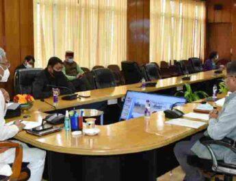 मुख्यमंत्री ने की जल जीवन मिशन की समीक्षा, विभाग को दिये अर्बन जल जीवन मिशन की कार्ययोजना तैयार करने के निर्देश