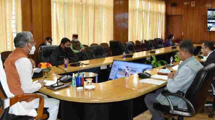 मुख्यमंत्री ने की जल जीवन मिशन की समीक्षा, विभाग को दिये अर्बन जल जीवन मिशन की कार्ययोजना तैयार करने के निर्देश 9