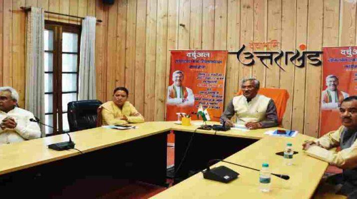 मुख्यमंत्री त्रिवेन्द्र सिंह रावत ने अल्मोड़ा जनपद के सल्ट विधानसभा की विभिन्न विकास योजनाओं का किया लोकार्पण एवं शिलान्यास, 38 करोड, 44 लाख, 44 हजार रूपये की योजनाओं का किया शिलान्यास तथा लोकार्पण 1