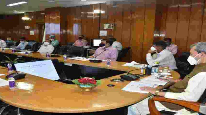 मुख्यमंत्री ने की शहरी विकास विभाग की समीक्षा, जनसेवाओं को जितना सम्भव हो, ऑनलाइन उपलब्ध कराया जाए-मुख्यमंत्री तीरथ सिंह रावत 1