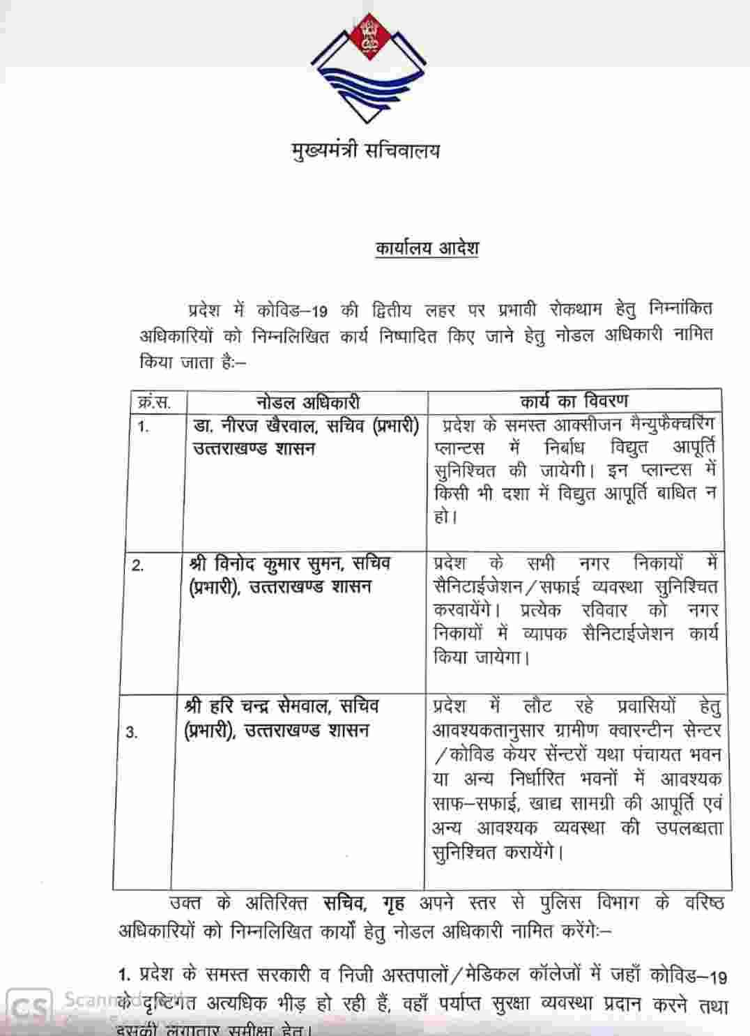 कोविड-19 की रोकथाम के लिए सरकार ने कुछ आईएएस अधिकारियों को किया नोडल अधिकारी नामित, दी यह अहम ज़िम्मेदारी 2