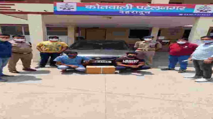 देहरादून: पटेलनगर में 06 आक्सीजन फ्लोमीटर की कालाबाजारी करते हुए 02 व्यक्ति गिरफ्तार 1