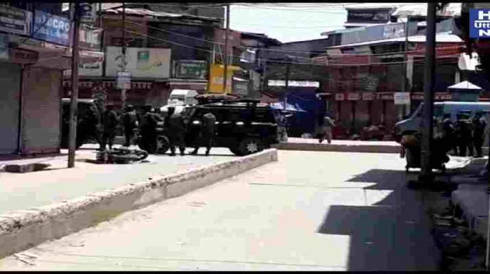 Militant attack in Sopore: 2 Cops as well as 2 Civilians Killed; 3 Policemen got Injured 11