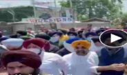 Video: Massive protest in Kashmir by Sikh community, allegations against allegedly abducted and converted two Sikh girls to Islam on gun point