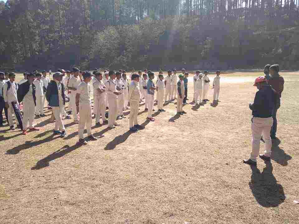 क्रिकेट एसोसिएशन ऑफ अल्मोड़ा के अंडर-16 एवं अंडर-19 बालक वर्ग के क्रिकेट ट्रॉयल की प्रक्रिया शुरू 3
