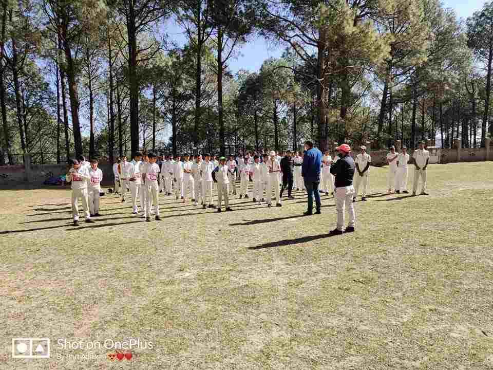 क्रिकेट एसोसिएशन ऑफ अल्मोड़ा के अंडर-16 एवं अंडर-19 बालक वर्ग के क्रिकेट ट्रॉयल की प्रक्रिया शुरू 2