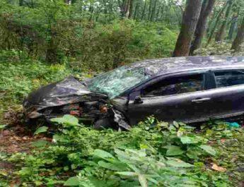 देहरादून में भीषण कार हादसा, 2 की मौके पर ही मौत, 4 घायल