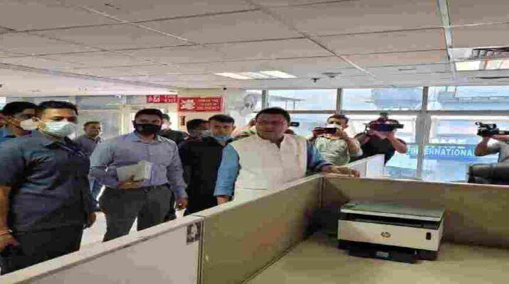 Dehradun: मुख्यमंत्री ने किया एमडीडीए का आकस्मिक निरीक्षण, नक्शे पास किये जाने तथा वन टाइम सेटलमेंट प्रक्रिया की ली जानकारी, प्राप्त आवेदनों को त्वरित गति से निस्तारण एवं समाधान के दिये निर्देश 7
