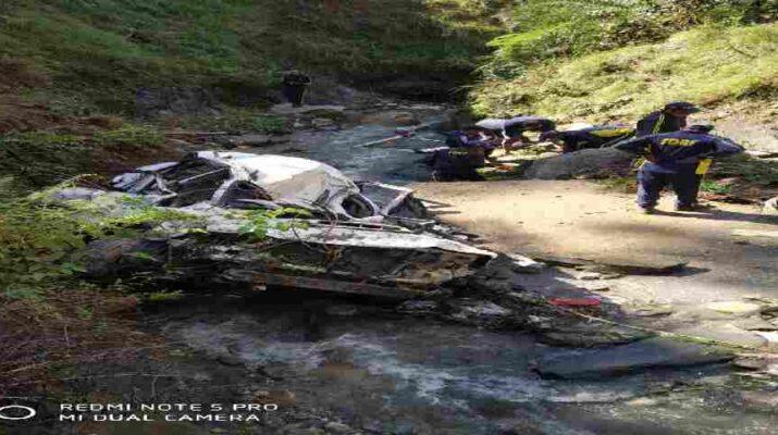 Pithoragarh: दुःखद - कार हादसे में रिटायर ब्रिगेडियर समेत पांच लोगों की मौत 5
